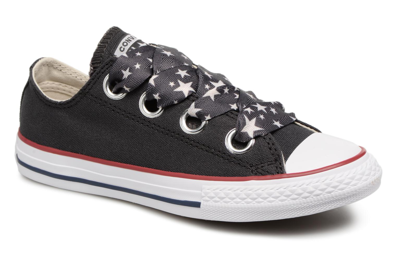 Sneakers Chuck Taylor All Star Big Eyelet Star Lace Slip by ConverseConverseZwartPaar schoenen - Sneakers88875558064631Textiel