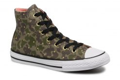 Sneakers Chuck Taylor All Star Hi Camo Gold Star by ConverseConverseGroenPaar schoenen - Sneakers88875521510430Textiel