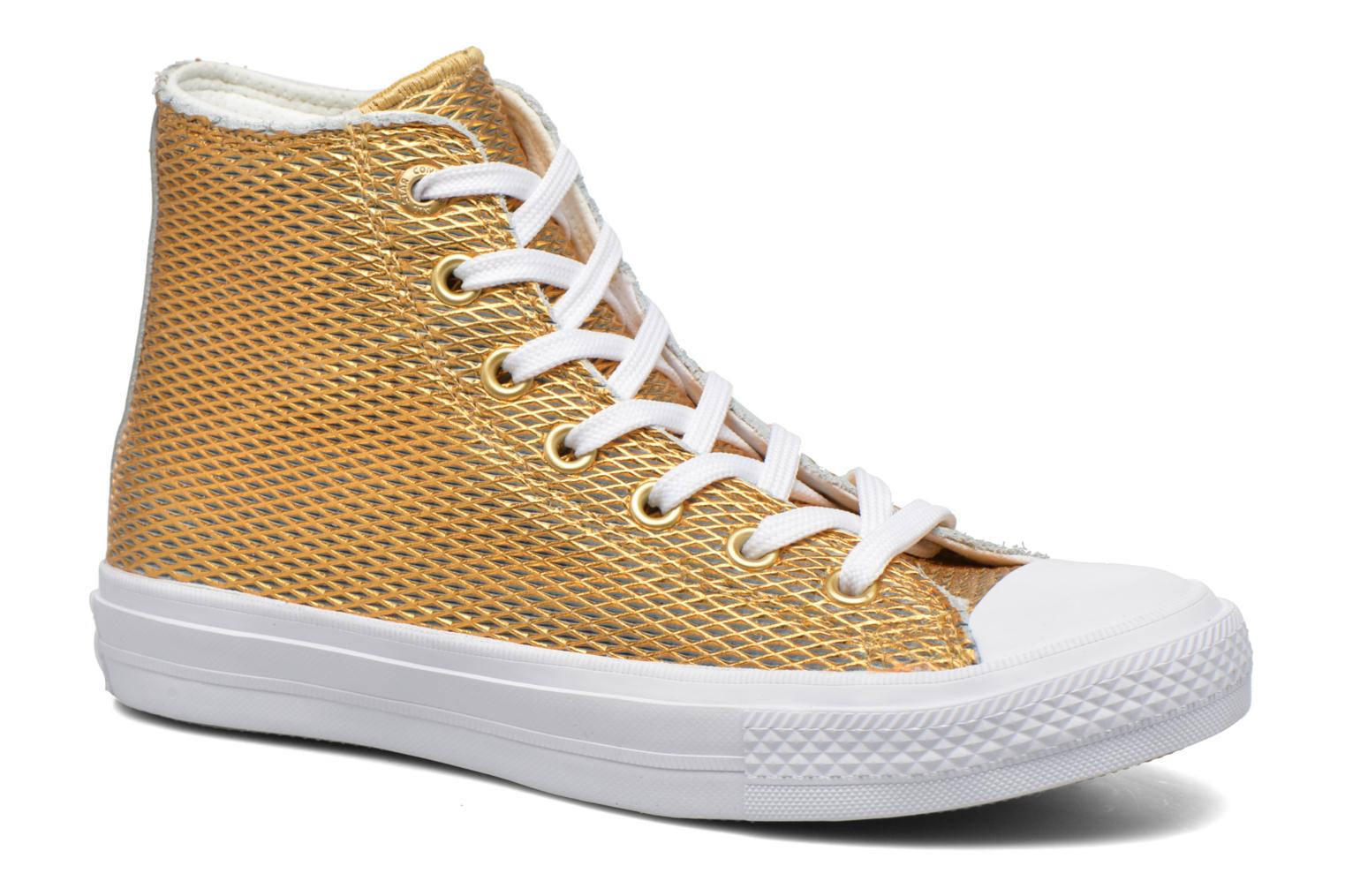 Sneakers Chuck Taylor All Star II Hi Perf Metallic Leather by ConverseConverseGoud en bronsPaar schoenen - Sneakers88875414845836Leer