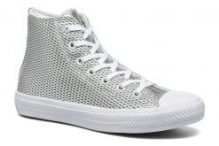 Sneakers Chuck Taylor All Star II Hi Perf Metallic Leather by ConverseConverseZilverPaar schoenen - Sneakers88875414871736Leer
