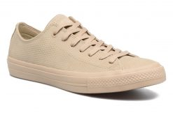 Sneakers Chuck Taylor All Star II Ox Lux Leather by ConverseConverseBeigePaar schoenen - Sneakers88875434315040Leer
