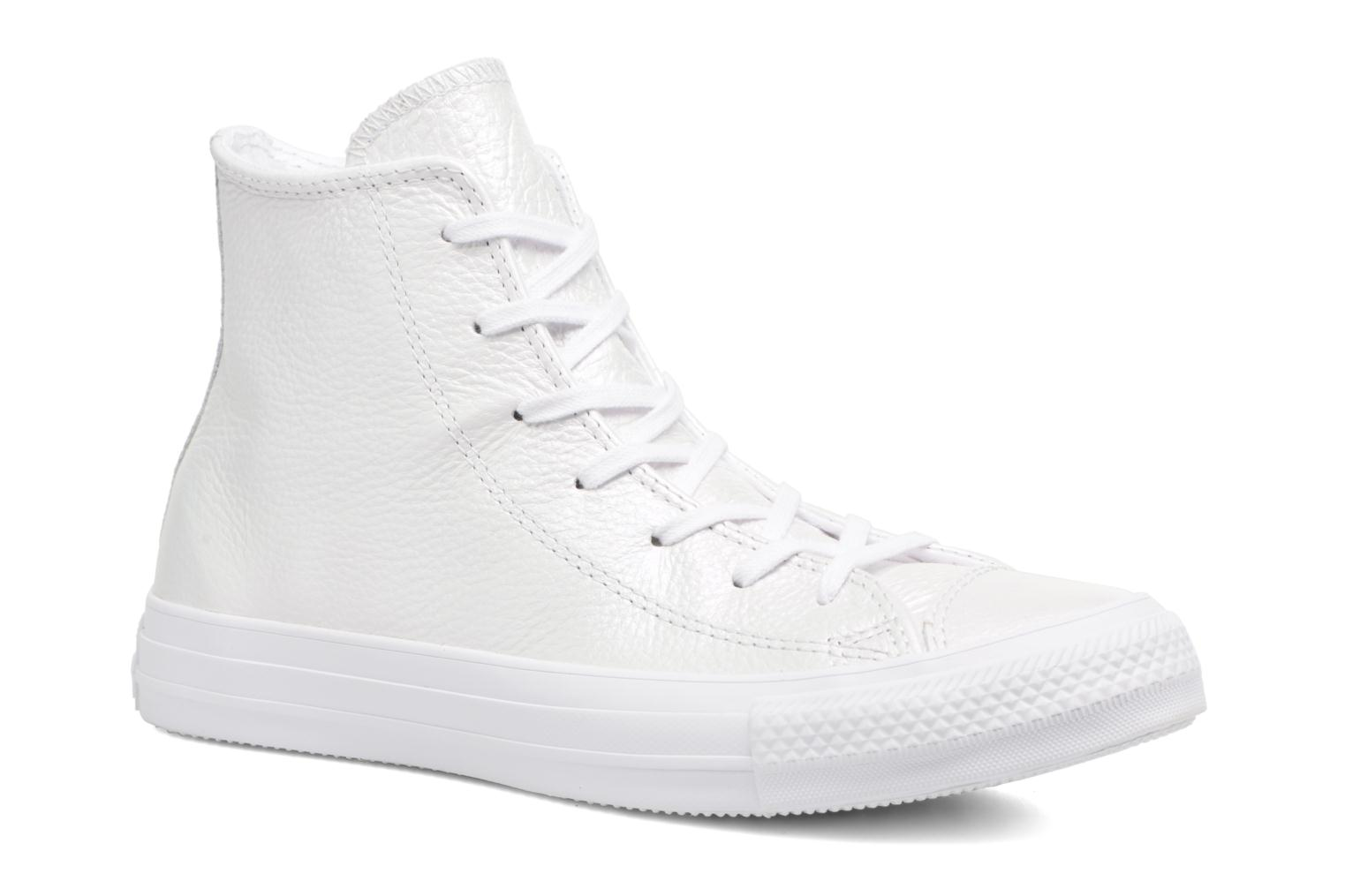 Sneakers Chuck Taylor All Star Iridescent Leather Hi by ConverseConverseWitPaar schoenen - Sneakers88875501412741Leer