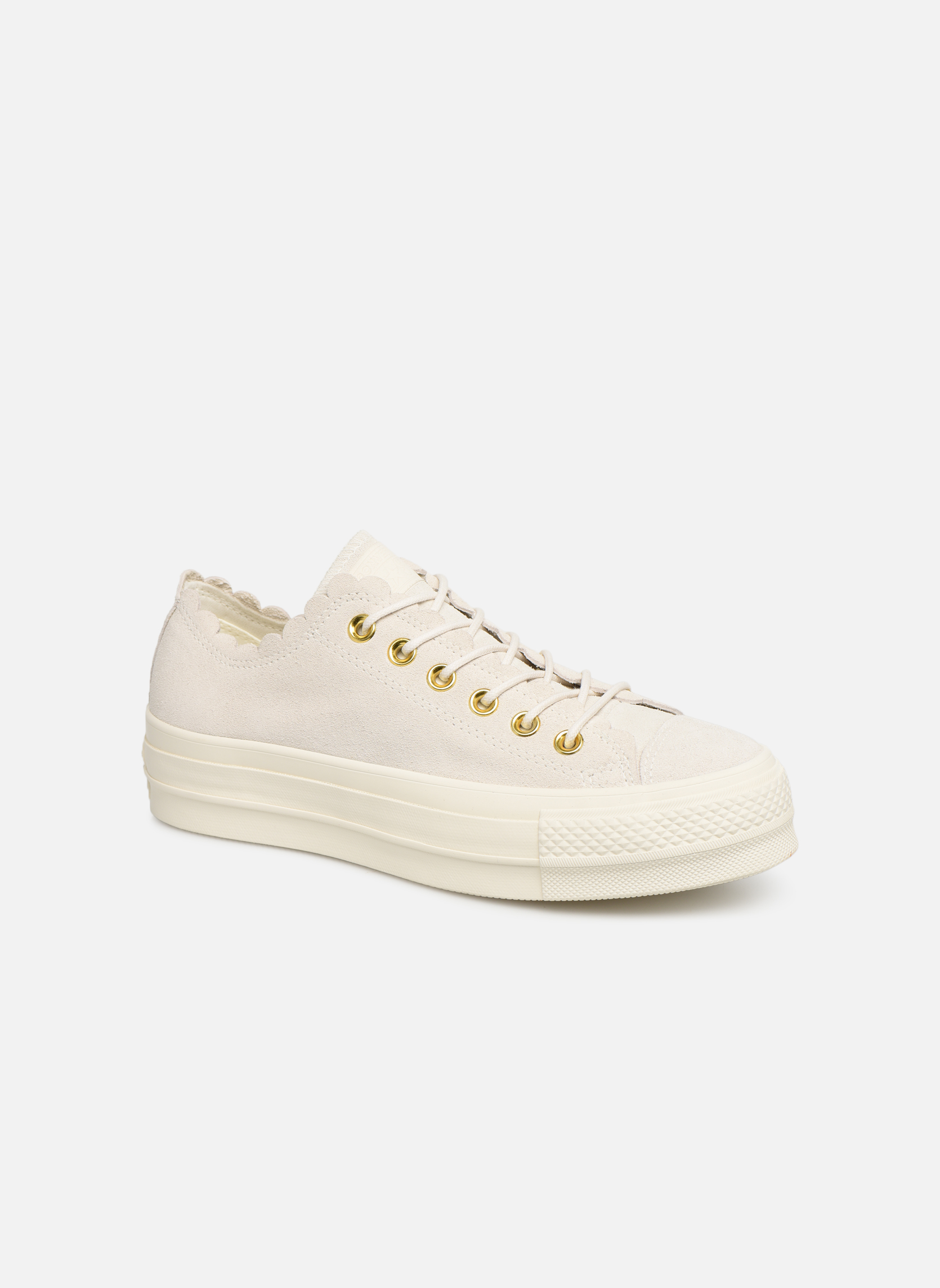 Sneakers Chuck Taylor All Star Lift Frilly Thrills Ox by ConverseConverseGrijsPaar schoenen - Sneakers88875651606441Nubuck