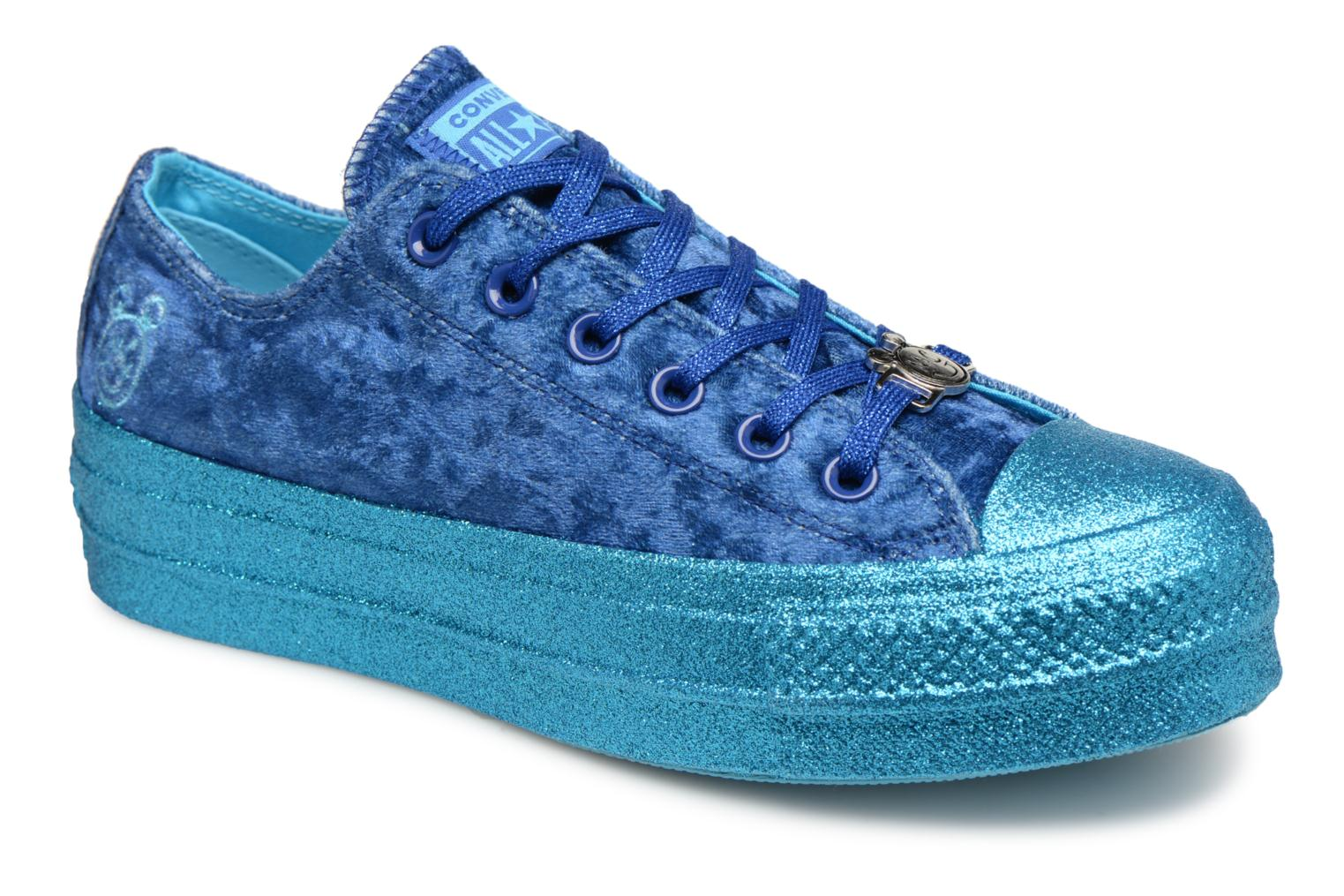 Sneakers Chuck Taylor All Star Lift Ox Miley Cyrus by ConverseConverseBlauwPaar schoenen - Sneakers88875627908236Synthetisch materiaal