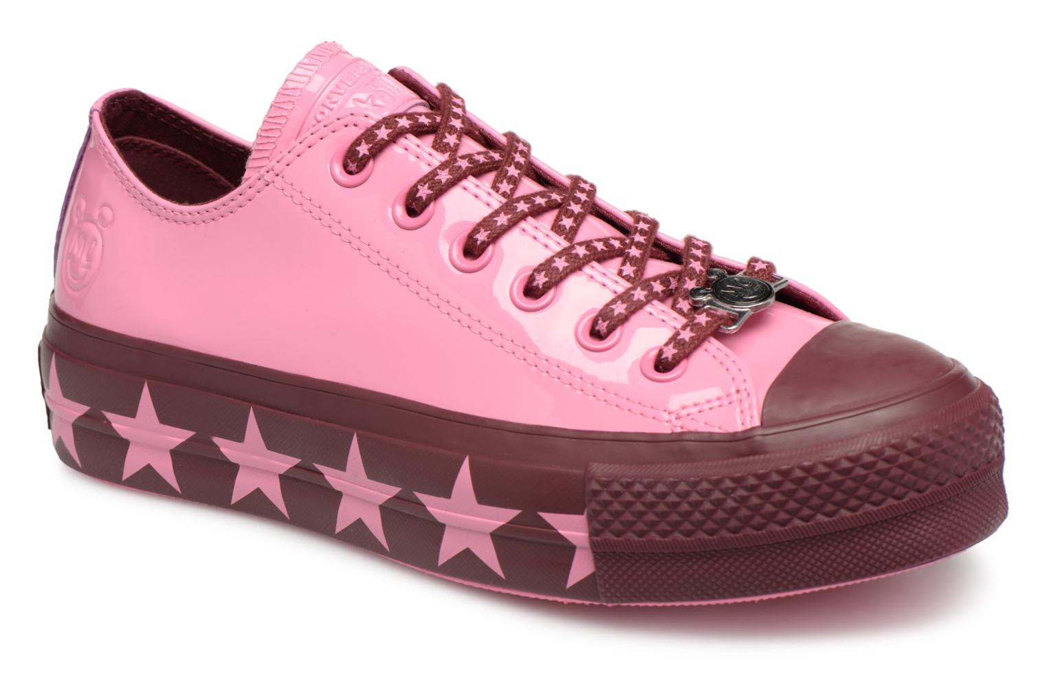 Sneakers Chuck Taylor All Star Lift Ox Miley Cyrus by ConverseConverseRozePaar schoenen - Sneakers88875627869636Synthetisch materiaal