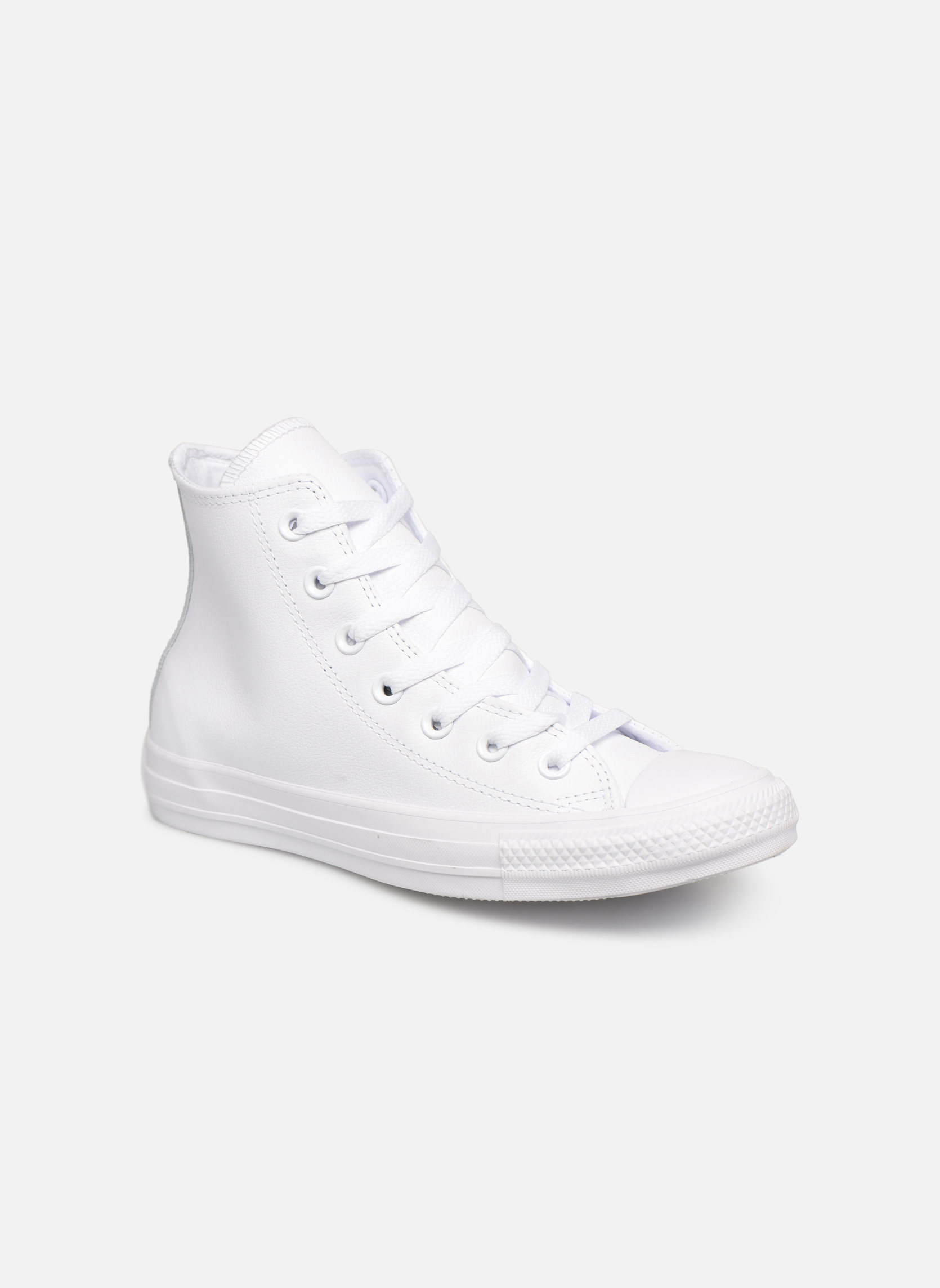 Sneakers Chuck Taylor All Star Mono Leather Hi M by ConverseConverseWitPaar schoenen - Sneakers2286335164845Leer