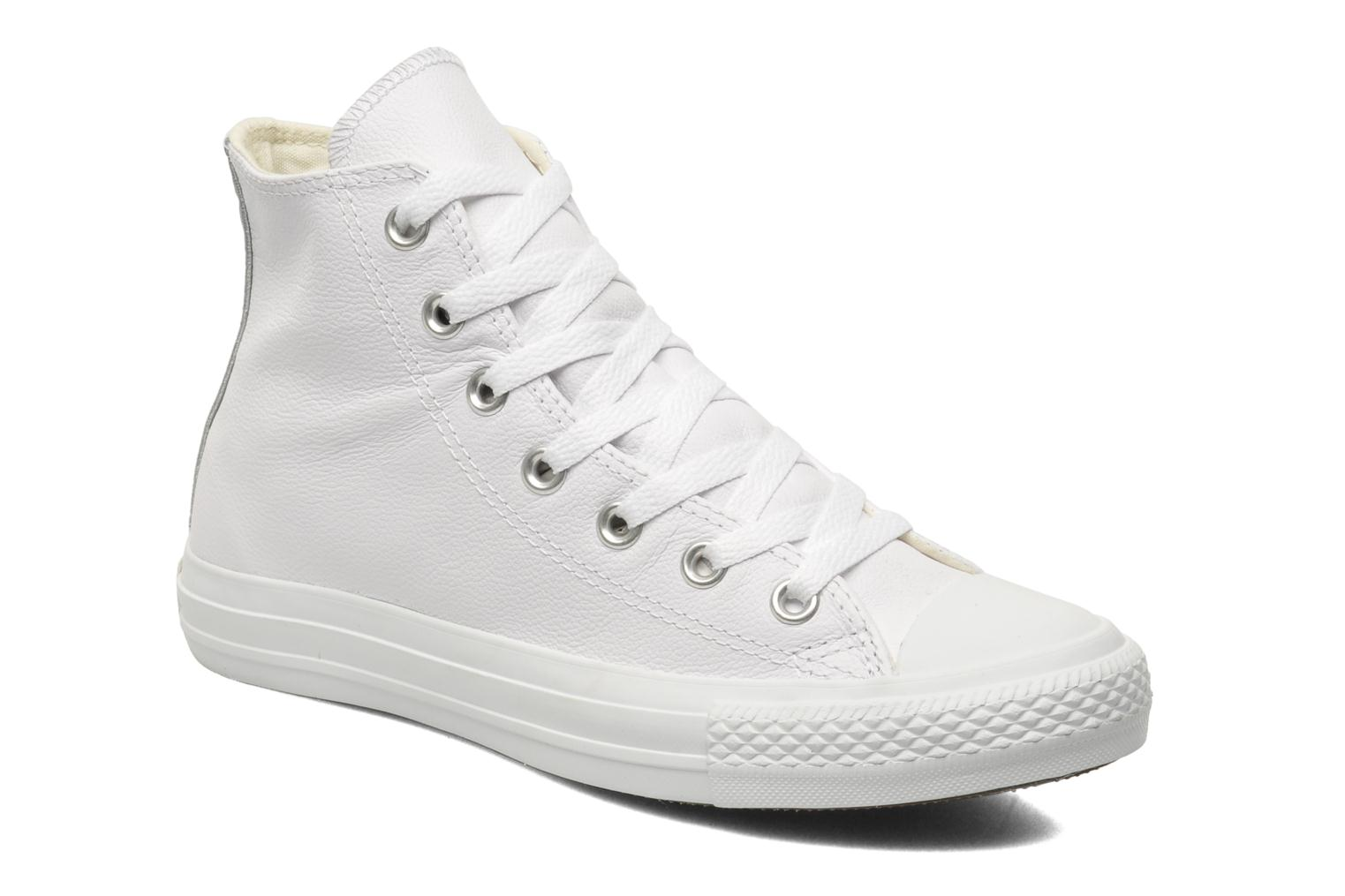 Sneakers Chuck Taylor All Star Mono Leather Hi W by ConverseConverseWitPaar schoenen - Sneakers2286335159442Leer