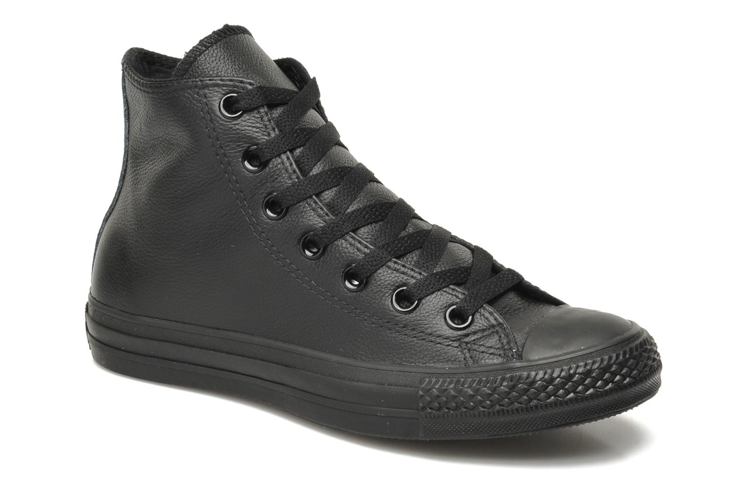 Sneakers Chuck Taylor All Star Mono Leather Hi W by ConverseConverseZwartPaar schoenen - Sneakers88695155299337 1/2Leer