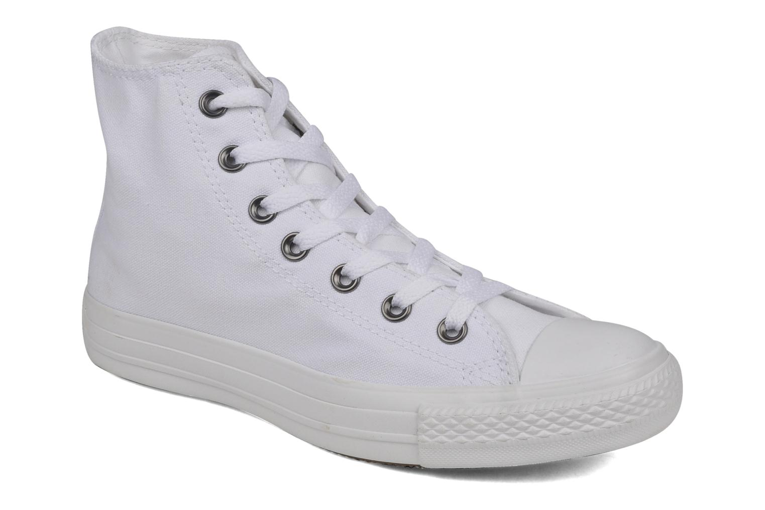 Sneakers Chuck Taylor All Star Monochrome Canvas Hi W by ConverseConverseWitPaar schoenen - Sneakers2286153896636Textiel