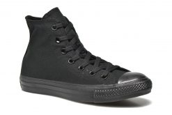 Sneakers Chuck Taylor All Star Monochrome Canvas Hi W by ConverseConverseZwartPaar schoenen - Sneakers88695277971936 1/2Textiel
