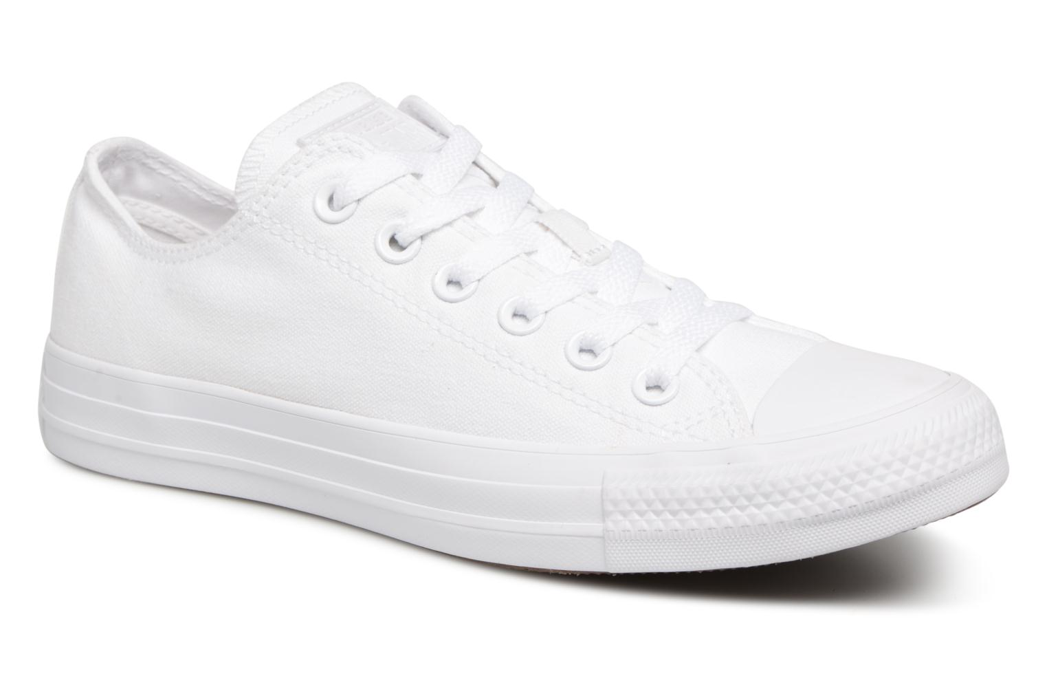 Sneakers Chuck Taylor All Star Monochrome Canvas Ox W by ConverseConverseWitPaar schoenen - Sneakers2286153997041Textiel
