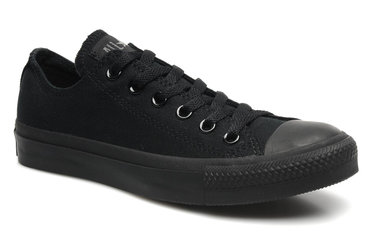 Sneakers Chuck Taylor All Star Monochrome Canvas Ox W by ConverseConverseZwartPaar schoenen - Sneakers2285973752436Textiel