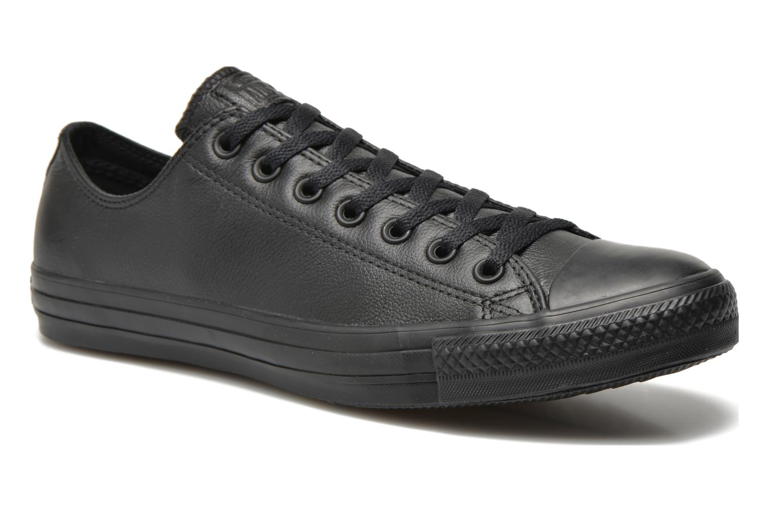 Sneakers Chuck Taylor All Star Monochrome Leather Ox M by Converse - Maat  42 1/2