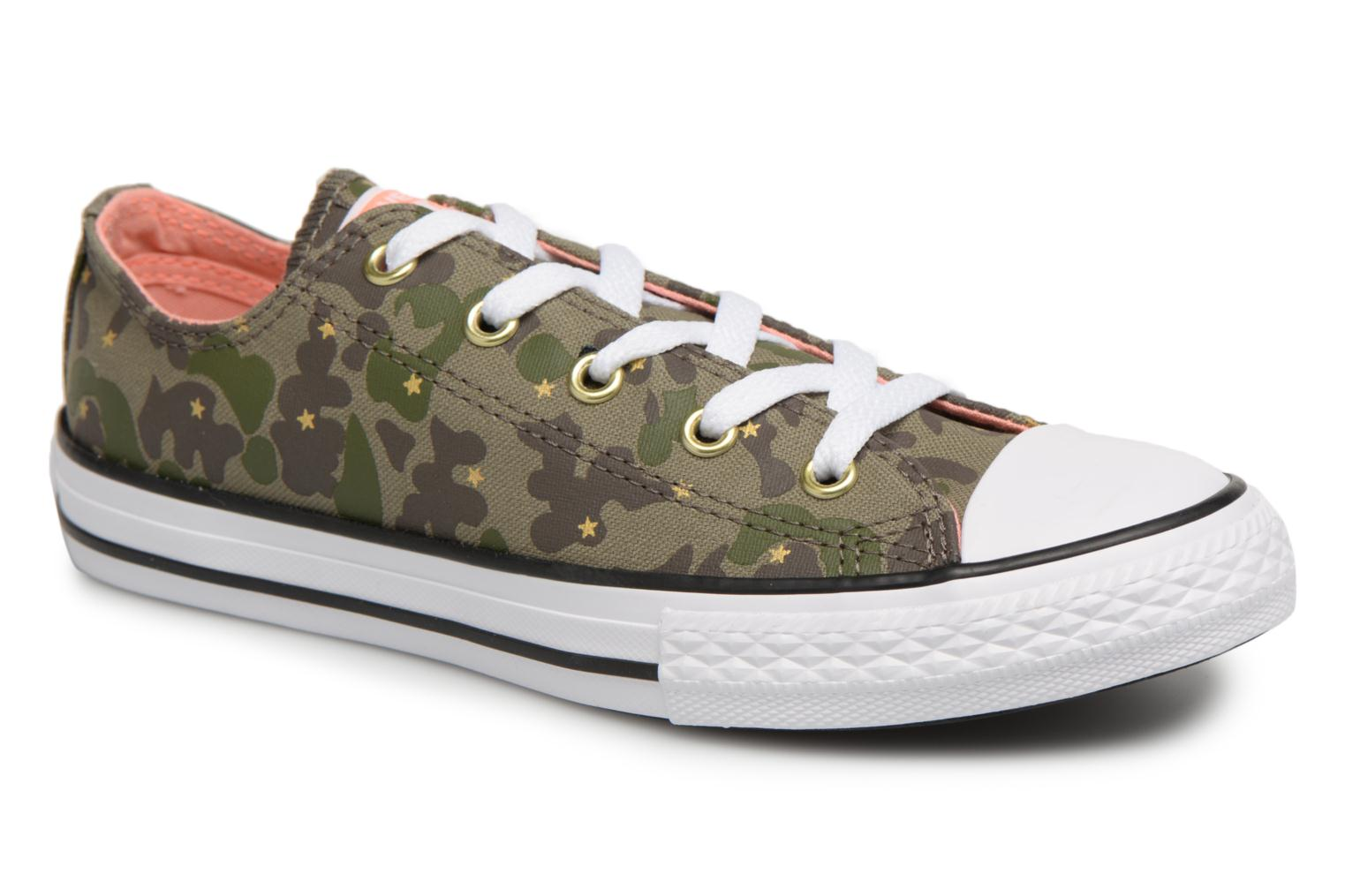 Sneakers Chuck Taylor All Star Ox Camo Gold Star by ConverseConverseGroenPaar schoenen - Sneakers88875521528930Textiel