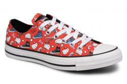 Sneakers Chuck Taylor All Star Ox Fiery Hello Kitty by ConverseConverseRoodPaar schoenen - Sneakers88875653495241Textiel