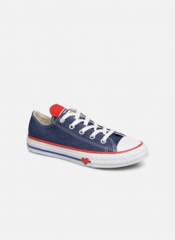 Sneakers Chuck Taylor All Star Ox Sucker for Love by ConverseConverseBlauwPaar schoenen - Sneakers88875646093034Textiel
