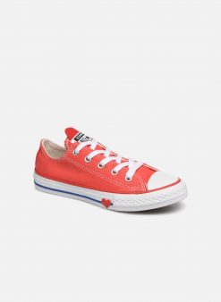 Sneakers Chuck Taylor All Star Ox Sucker for Love by ConverseConverseRoodPaar schoenen - Sneakers88875646142535Textiel
