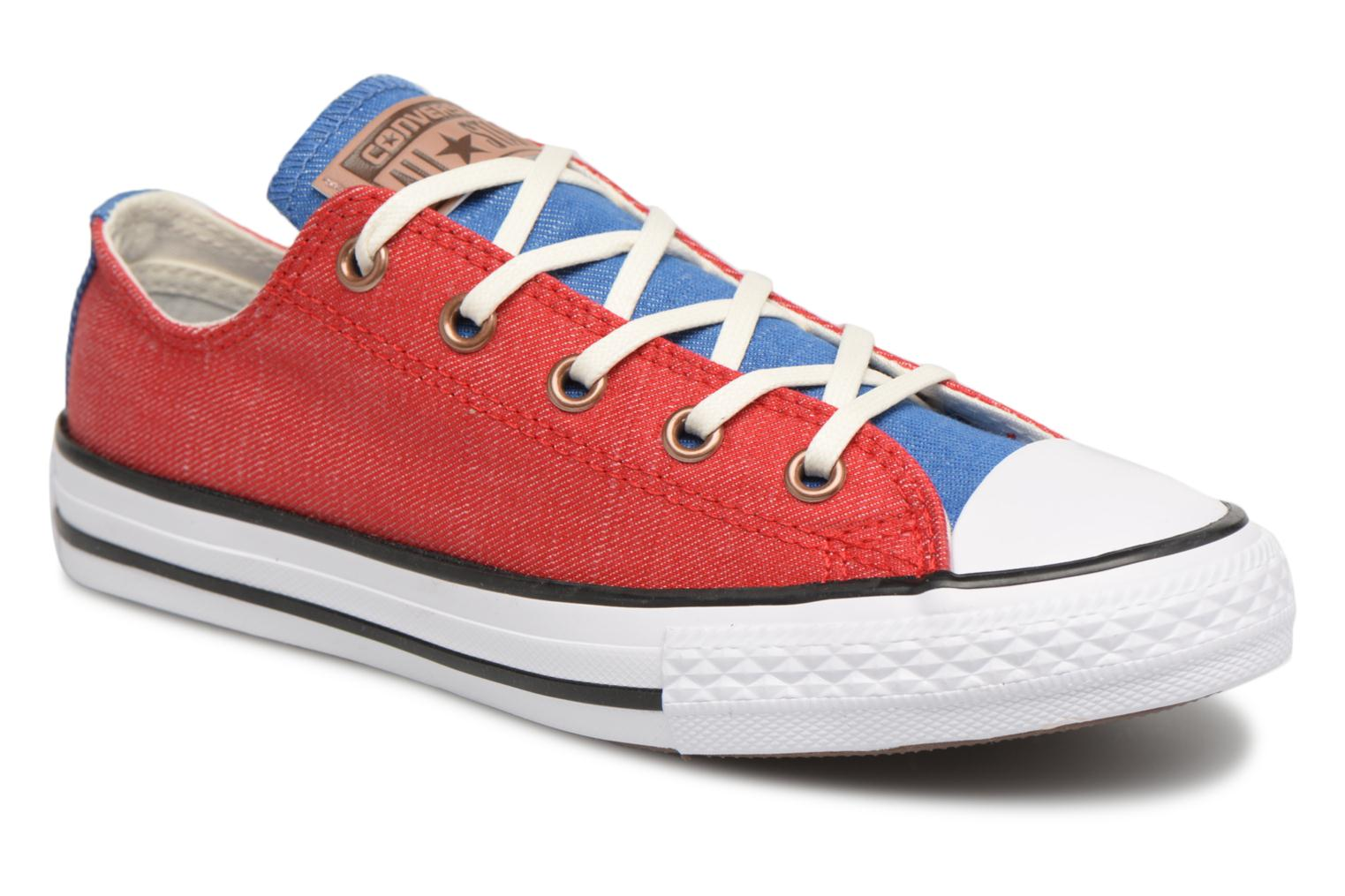 Sneakers Chuck Taylor All Star Ox Two Color Chambray by ConverseConverseRoodPaar schoenen - Sneakers88875521582130Textiel