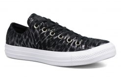 Sneakers Chuck Taylor All Star Shimmer Suede Ox by ConverseConverseZwartPaar schoenen - Sneakers88875473969442 1/2Textiel