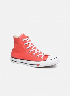 Sneakers Chuck Taylor All Star Sucker for Love Hi by ConverseConverseRoodPaar schoenen - Sneakers88875643020942Textiel