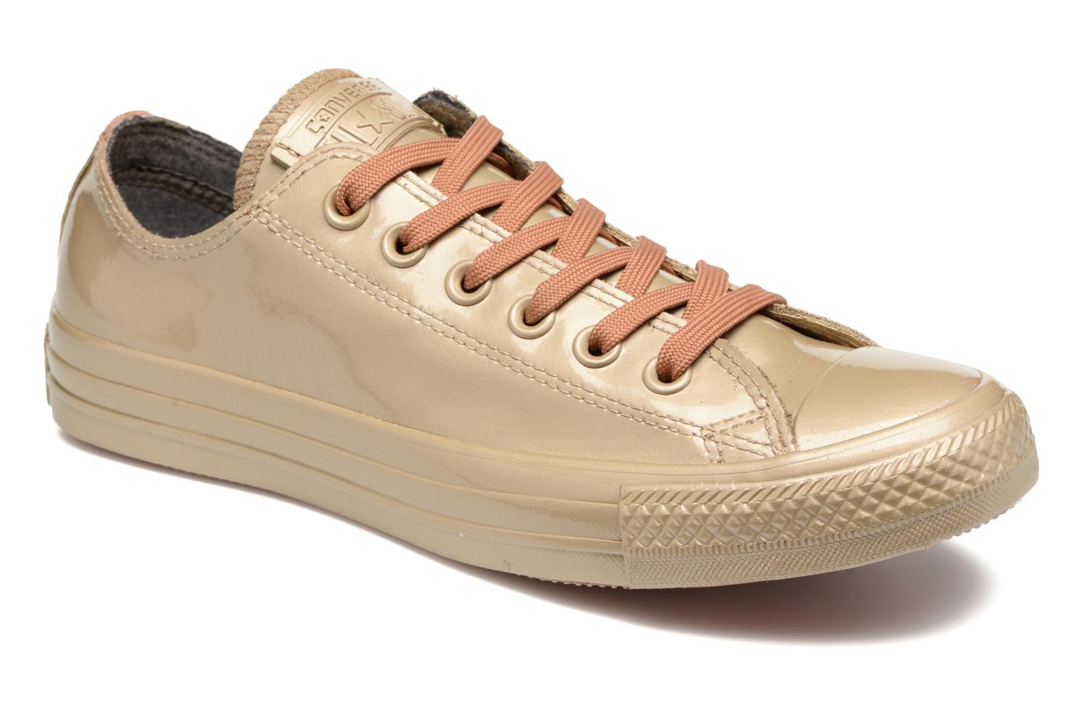 Sneakers Ctas Metallic Rubber Ox W by ConverseConverseGoud en bronsPaar schoenen - Sneakers88875377569337 1/2Synthetisch materiaal