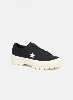 Sneakers One Star Lugged Court Stopper Ox by ConverseConverseZwartPaar schoenen - Sneakers88875646404441Textiel
