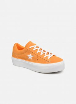 Sneakers One Star Platform Lift Me Up Ox by ConverseConverseOranjePaar schoenen - Sneakers88875647496841Nubuck