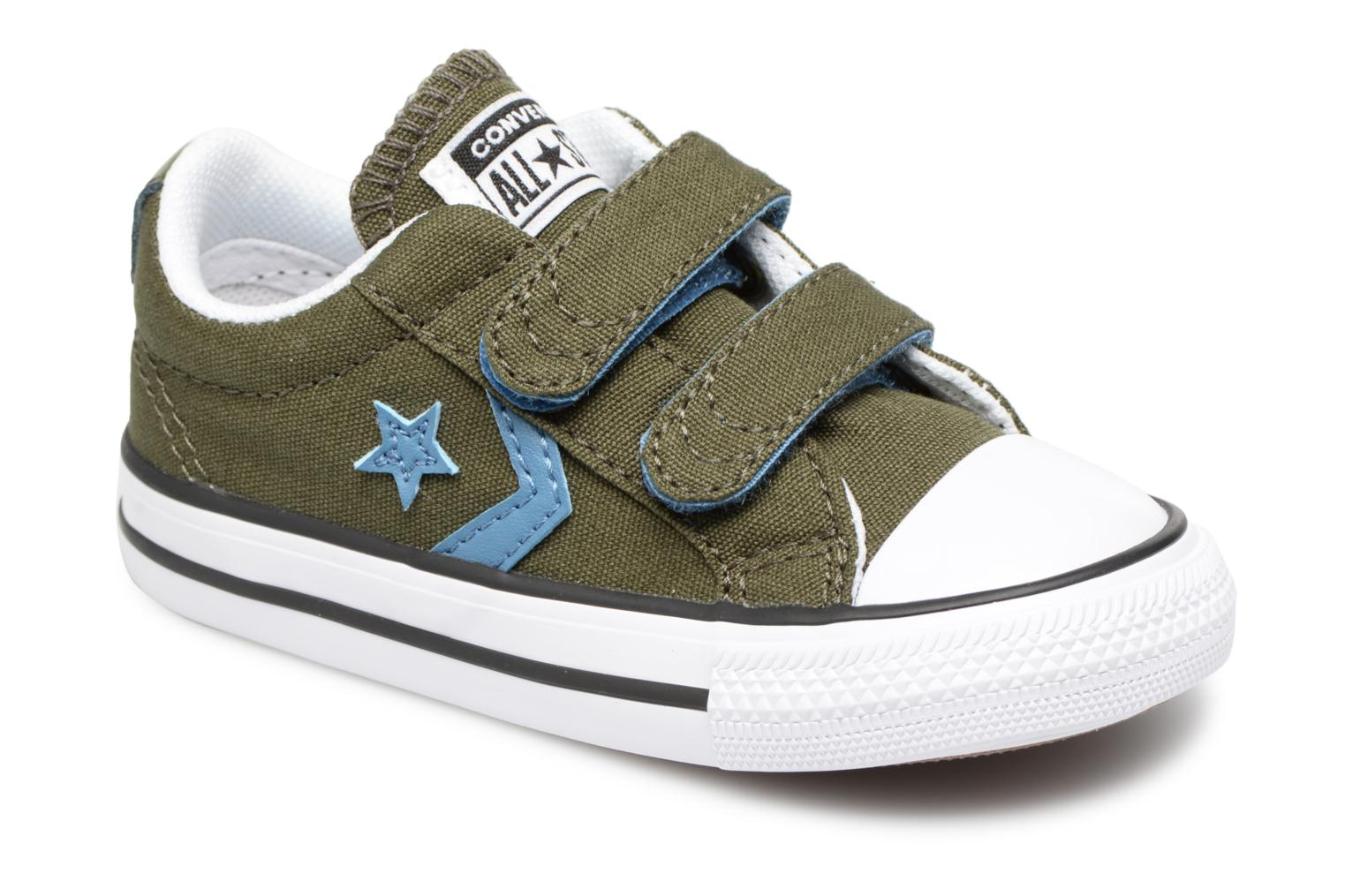 Sneakers Star Player 2V Canvas Ox by ConverseConverseGroenPaar schoenen - Sneakers88875558807920Textiel