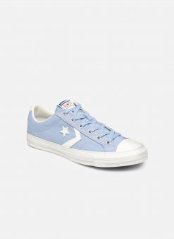 Sneakers Star Player Canvas/Suede Ox by ConverseConverseBlauwPaar schoenen - Sneakers88875655086045Leer/textiel