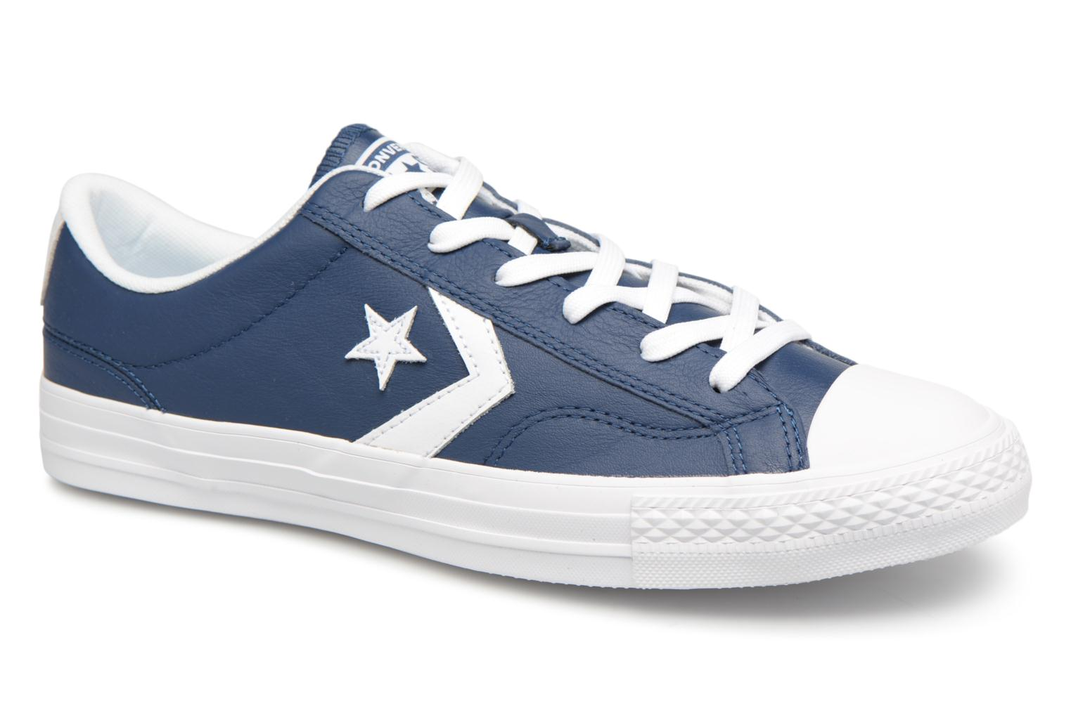 Sneakers Star Player Leather Essentials Ox by ConverseConverseBlauwPaar schoenen - Sneakers88875535115440Leer