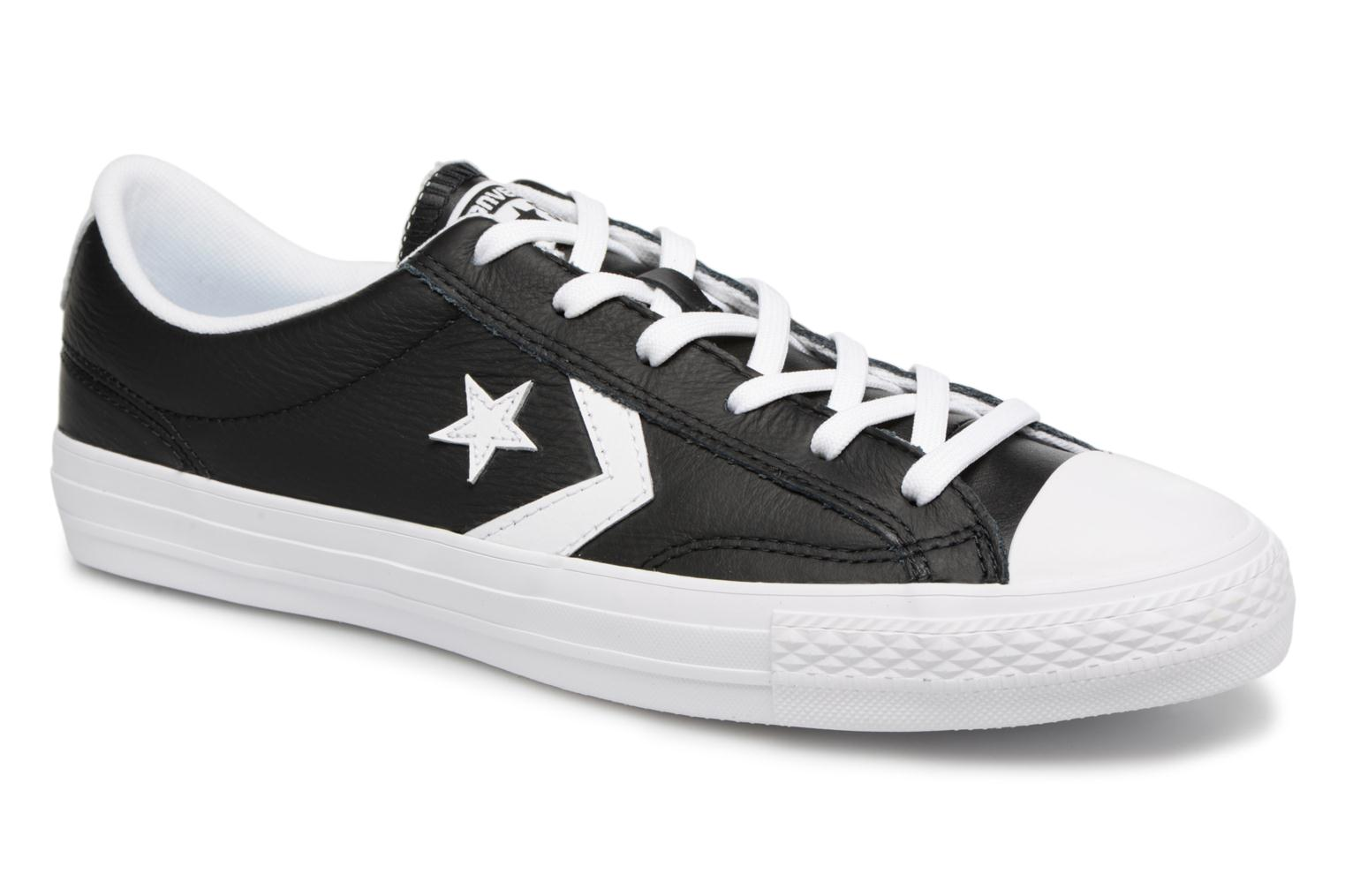 Sneakers Star Player Leather Essentials Ox by ConverseConverseZwartPaar schoenen - Sneakers88875535096642 1/2Leer