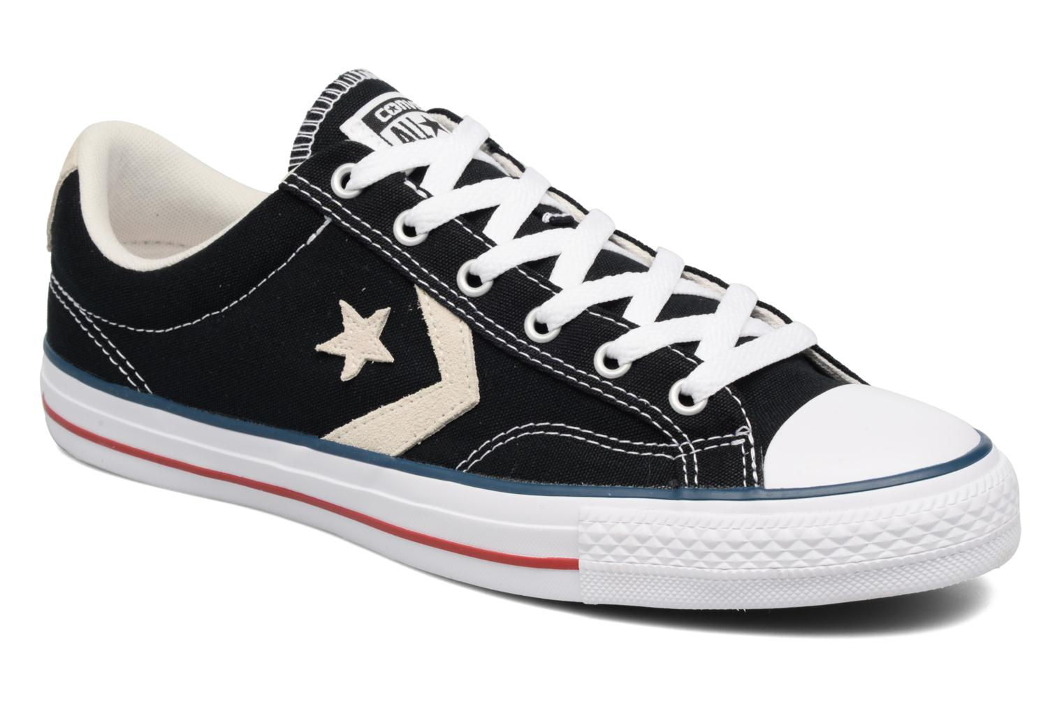 Sneakers Star Player Ox Evergreen by ConverseConverseZwartPaar schoenen - Sneakers41Textiel