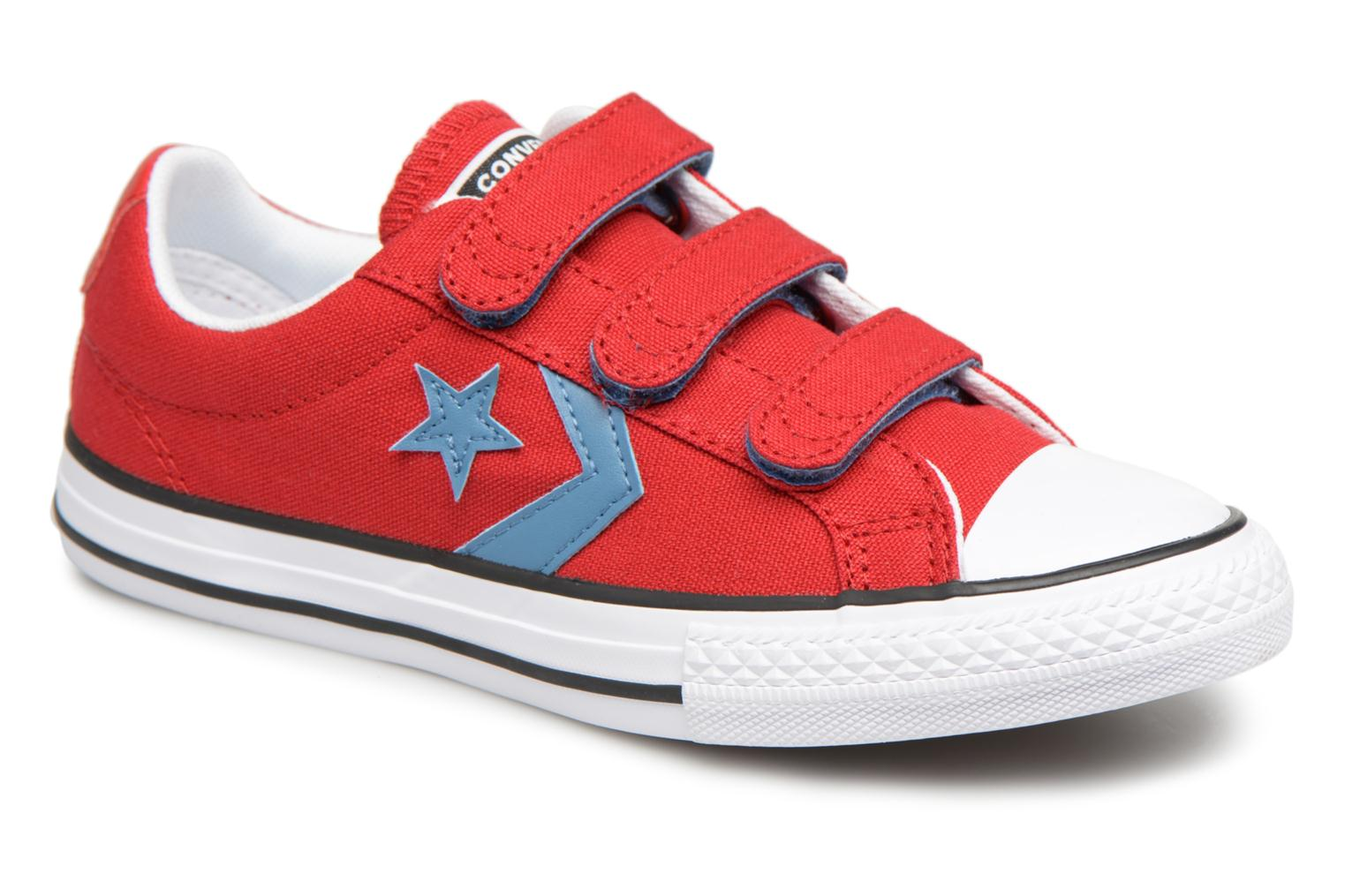 Sneakers Star Player Summer Core Canvas Ox by ConverseConverseRoodPaar schoenen - Sneakers88875561844833 1/2Textiel