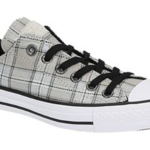 Converse CHUCK TAYLOR ALL STAR PLAID beige lage sneakers